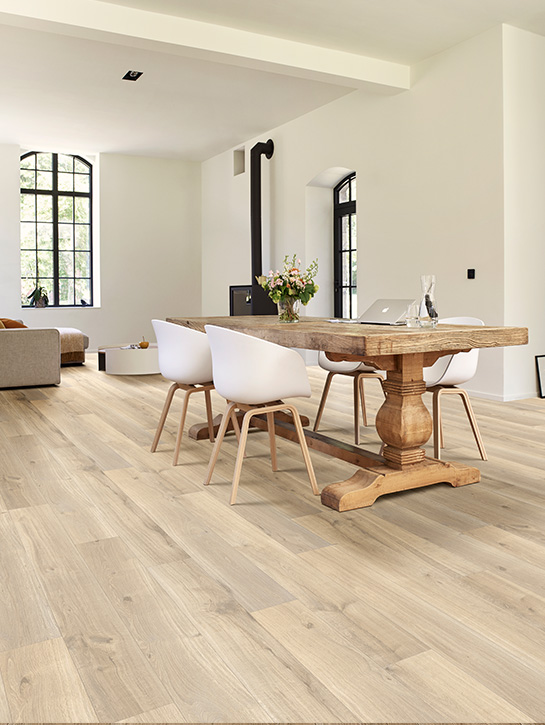 Dynamic Wood-XXL | Collectie projectvinyl | Interfloor Tapijt - Vinyl | Sfeerfoto