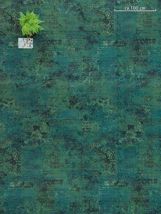 Image 11-17 – Mystique Blossom 983 'Deep Forest Green' – Bovenaanzicht