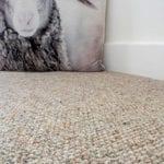 Comfortabel & luchtzuivering - duurzame natuurlijke grondstoffen wollen tapijt warm akoestiek verhogend