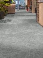 image 1 of 7 – Interfloor Dynamic Basalto – Kleur 968 – Intensief gebruik vinylvloer lobby