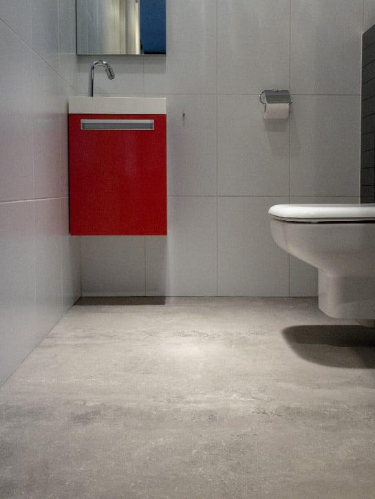 image 3 of 10 - Interfloor Dynamic Cemento - Kleur 609 - Functionele en duurzame pvc vloer