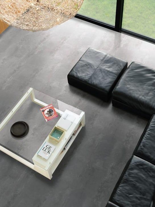image 9 of 10 - Interfloor Dynamic Cemento - Kleur 625 - Bovenaanzicht PVC cementlook