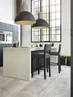 image 4 of 8 – Interfloor Dynamic Cemento – Kleur 643 -Ongepolijste vloer woonkeuken