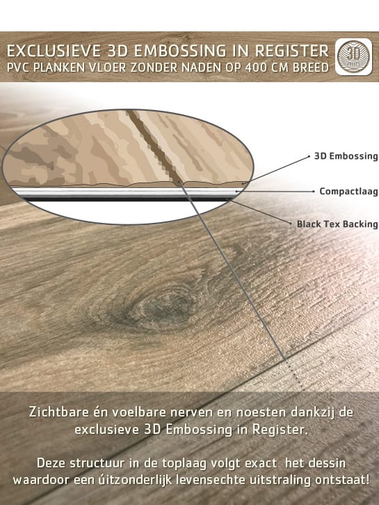 image 3 of 10 – Interfloor Dynamic Wood-3D – Embossing in Register techniek